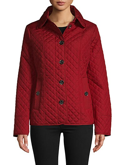 0a7e3b278a MICHAEL Michael Kors Quilted Long-Sleeve Jacket ...