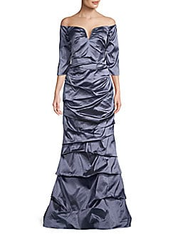 129388d77e0a33 QUICK VIEW. Rene Ruiz Collection. Ruched Off-The-Shoulder Dress