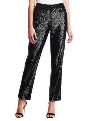A.l.c Pants Hanson Sequin Trousers