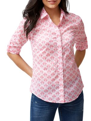 Tommy Bahama T-shirts Floral Button-Down Shirt
