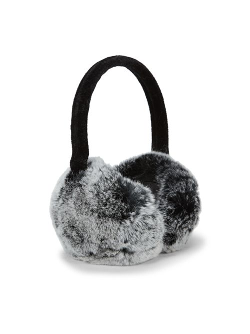 Annabelle New York Dyed Rex Rabbit Fur Ear Muffs