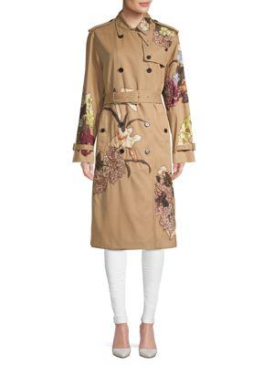 Valentino Trench Coat In Beige
