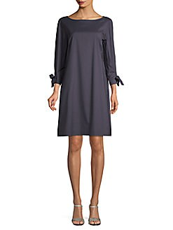 2924f05f4f98 QUICK VIEW. Lafayette 148 New York. Cotton Blend Shift Dress