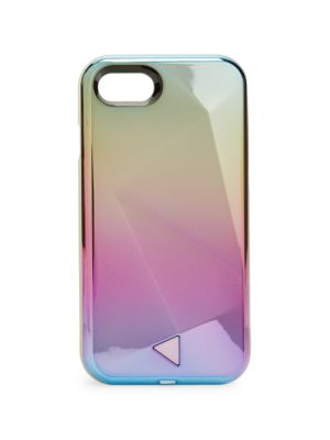 Rebecca Minkoff Glow Selfie Iphone 7 Case In Oil Slick