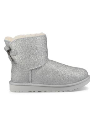 d4eff0c6d1f Mini Bailey Bow Sparkle Dyed Shearling Boots