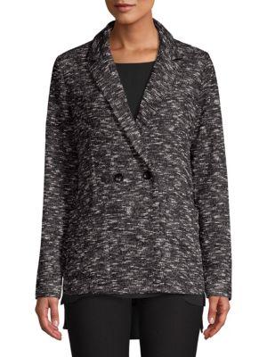 Eileen Fisher Blazers Classic Collar Knit Blazer