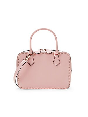Studded Leather Box Crossbody Bag by Valentino Garavani