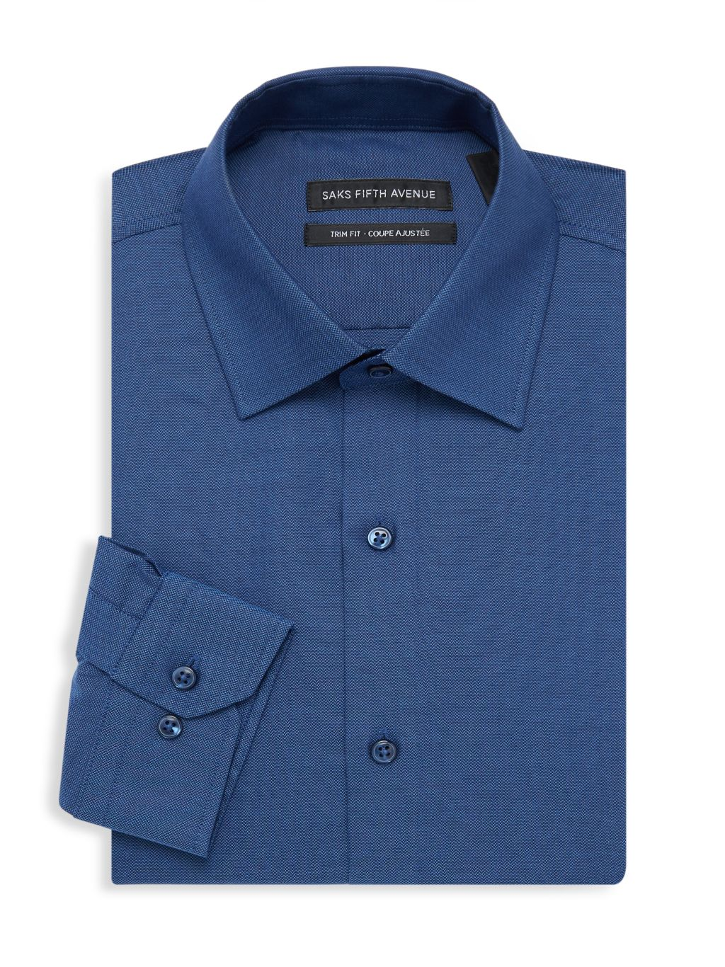 Saks Fifth Avenue Trim-Fit Oxford Dress Shirt