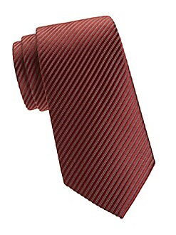 a793c57217b0 Product image. QUICK VIEW. Giorgio Armani. Striped Silk Tie