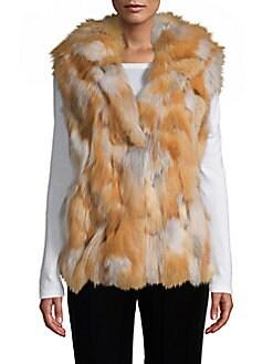 afbd12ad4032 ... Fur Vest NATURAL TAN. QUICK VIEW. Product image