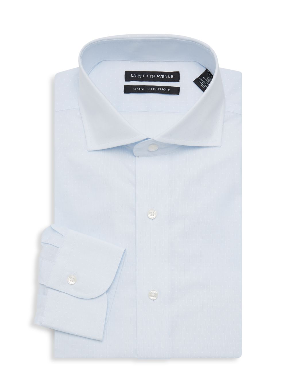 Saks Fifth Avenue Slim-Fit Printed Dress Shirt