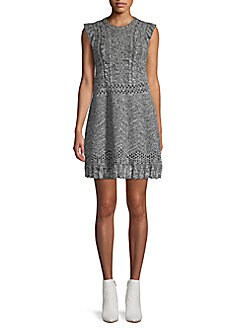 864650f0e6 M Missoni. Wool Blend Mini Sweater Dress