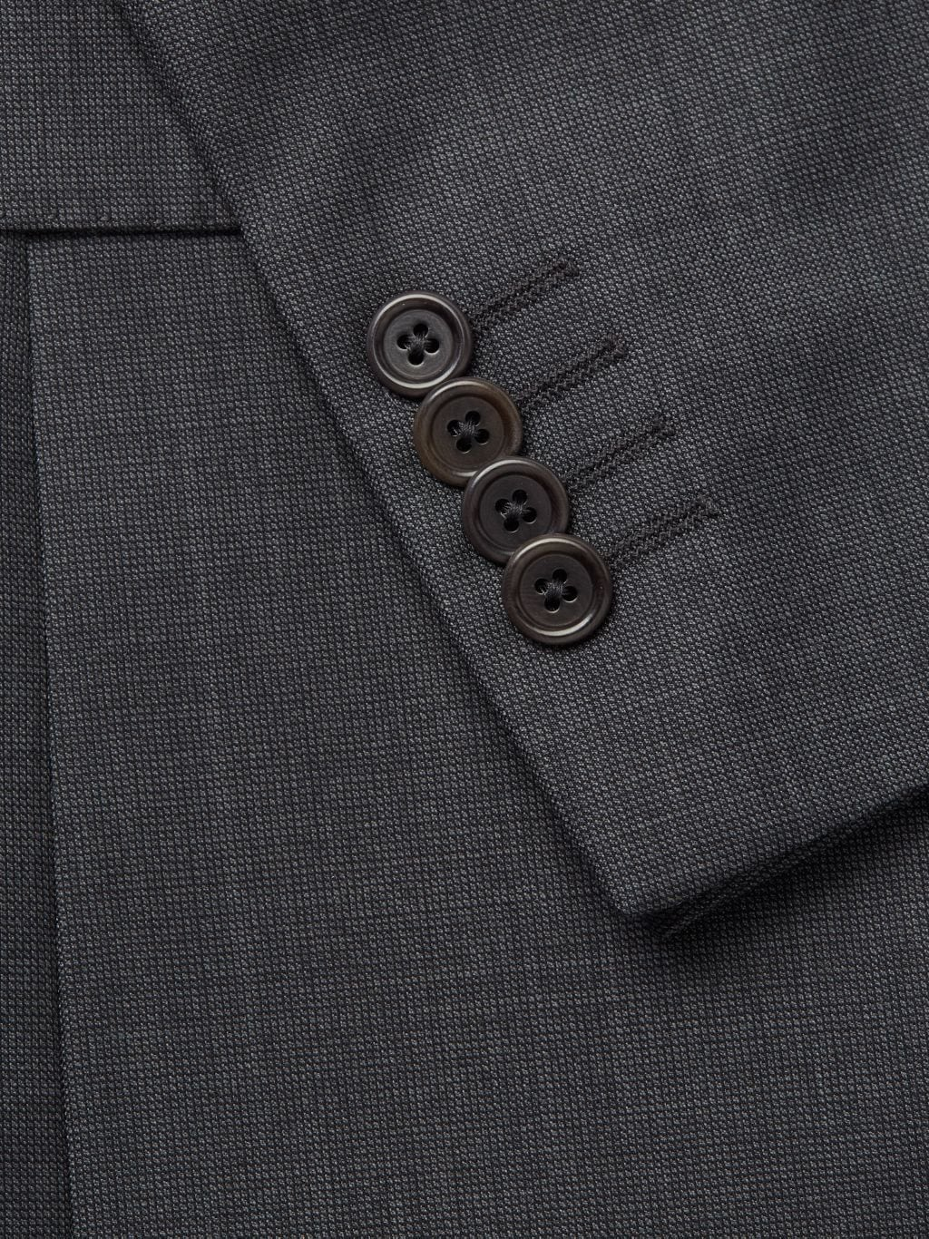 Saks Fifth Avenue Made in Italy Slim-Fit Wool Suit