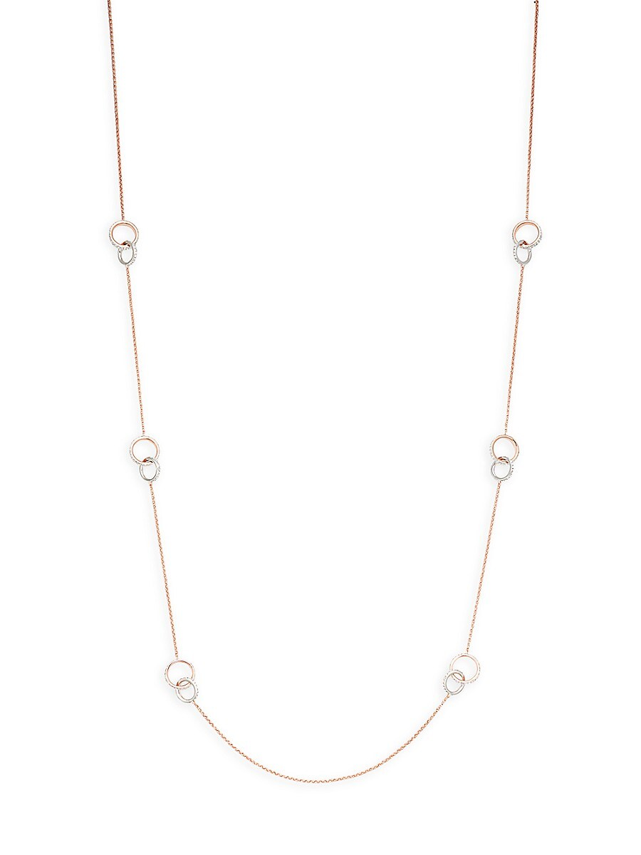 Women's Crystal Station Necklace