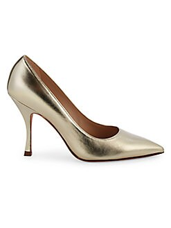 7834ead87 Product image. QUICK VIEW. Stuart Weitzman. Tippi Metallic Leather Pumps