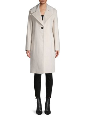 Derek Lam 10 Crosby Coats Two-Tone Reefer Coat