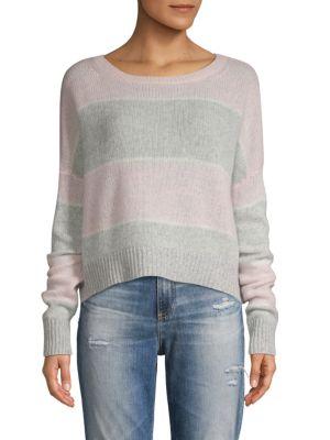 360cashmere Striped Cashmere Sweater