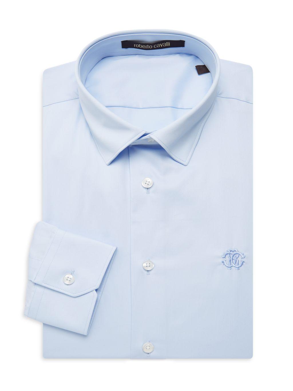 Roberto Cavalli Slim-Fit Dress Shirt