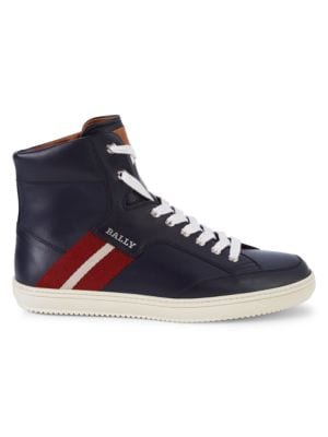 Bally Sneakers Oldani Leather High-Top Sneakers