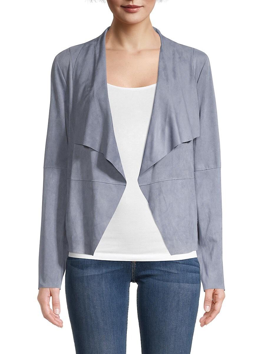 Women's Draped Open-Front Jacket