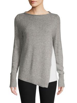 Brochu Walker Layered Wool & Cashmere-Blend Sweater