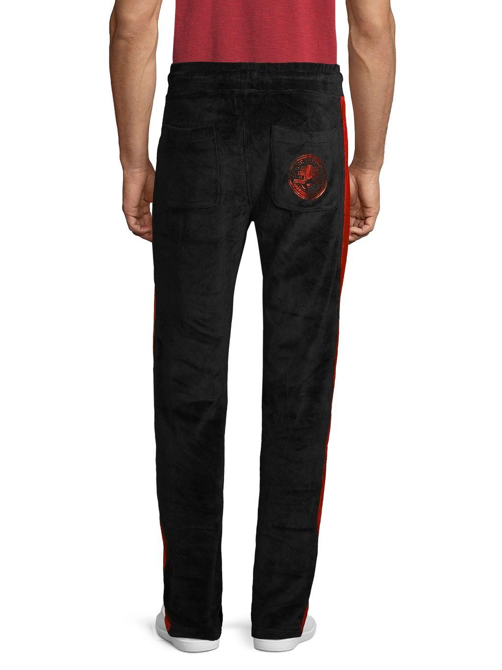 American Fighter Side-Striped Velvet Pants