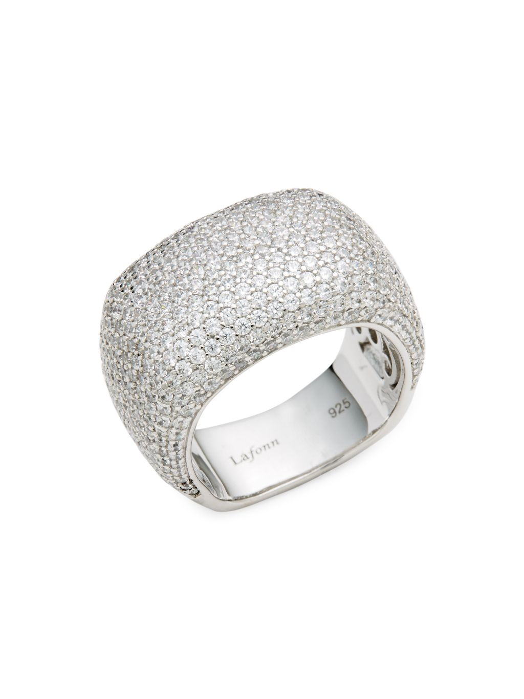 Lafonn 925 Sterling Silver Wide Band Ring