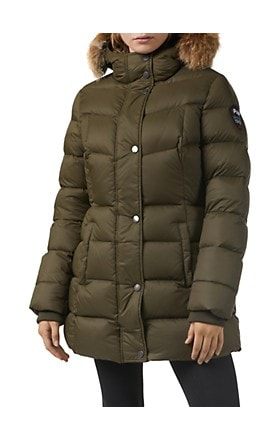 Pajar Canada Roxy Fox Fur-Trim Down Parka