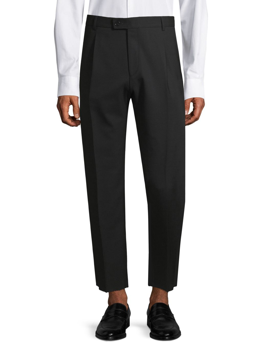 HUGO Cropped Straight Trousers
