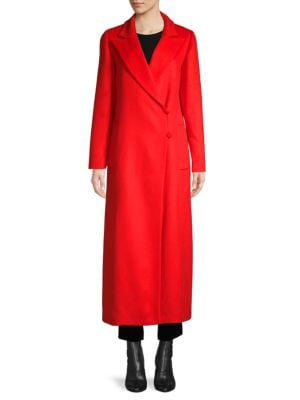 Oscar De La Renta Coats Fleece Wool, Angora & Cashmere Coat