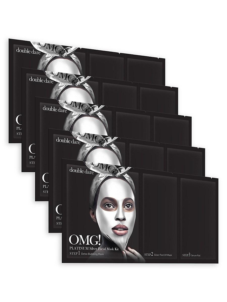 Women's OMG! Platinum 5-Piece Facial Mask Kit