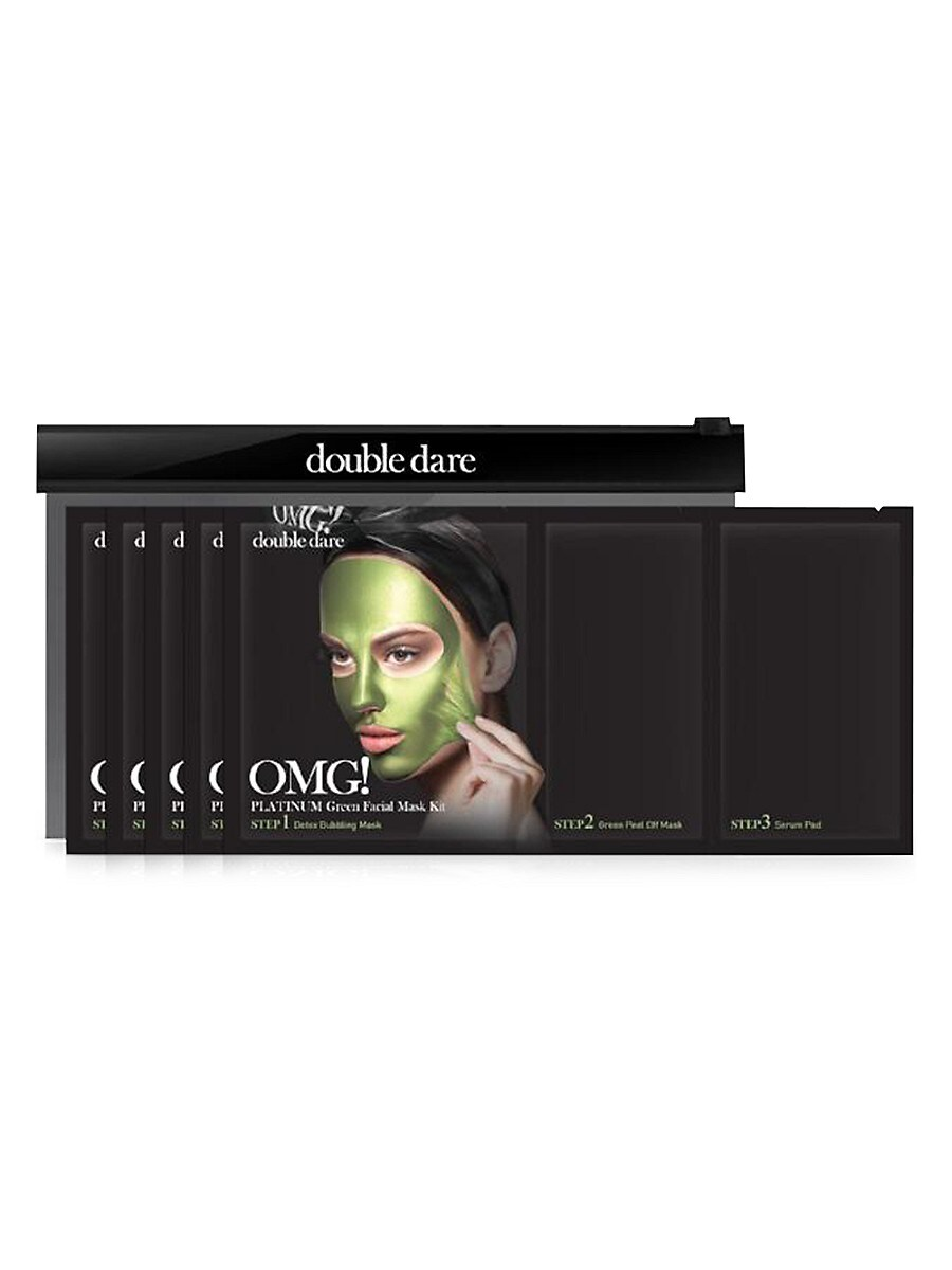 Women's OMG Platinum 5-Piece 3-In-1 Facial Mask Kit