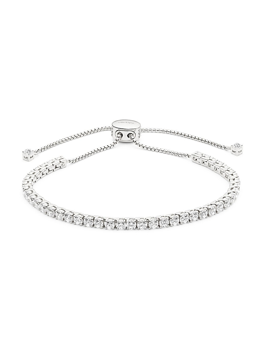 Women's Crystal Bolo Bracelet