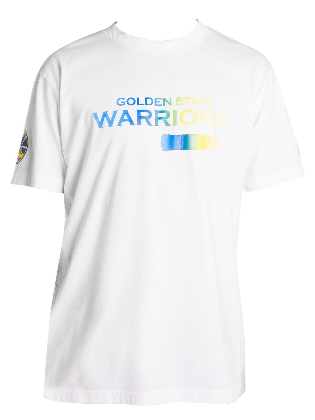 Marcelo Burlon Golden State Warriors Mesh Graphic Tee