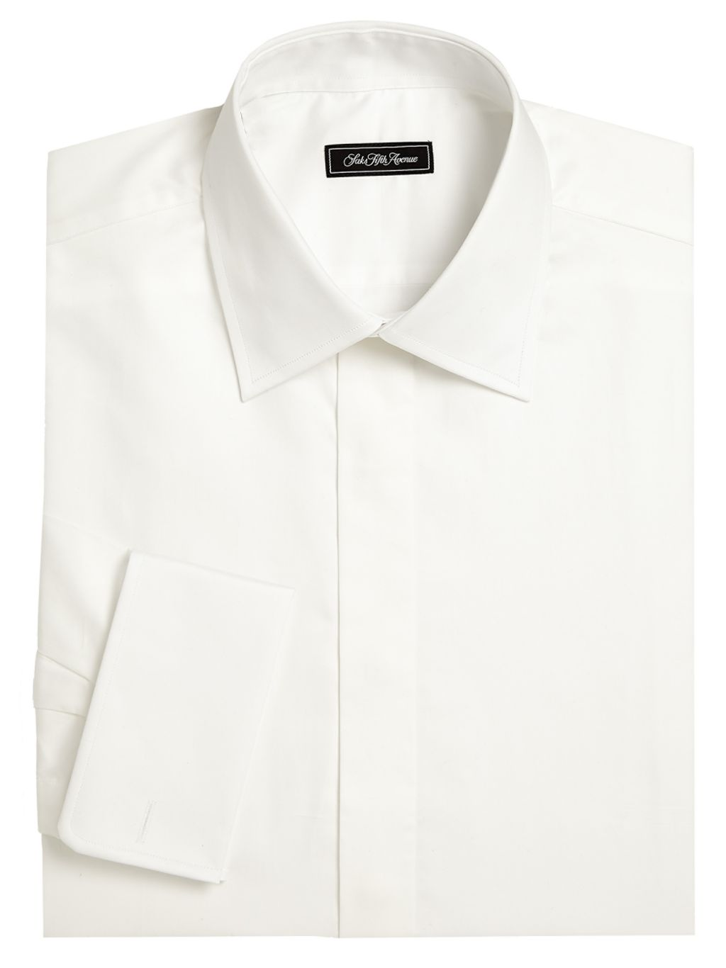 Saks Fifth Avenue COLLECTION Classic Fit Tuxedo Shirt