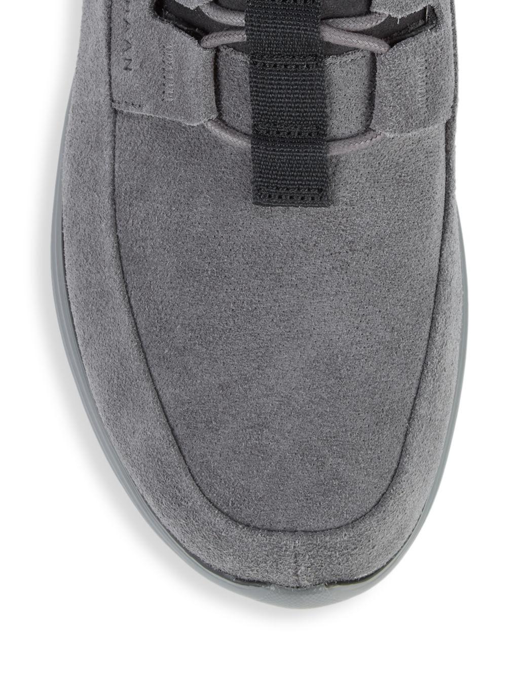 Cole Haan GrandSport Suede Sneakers