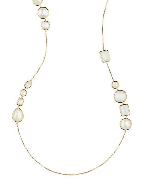 Ippolita Rock Candy® Flirt 18K Multi-Stone & Yellow Gold Hero Necklace