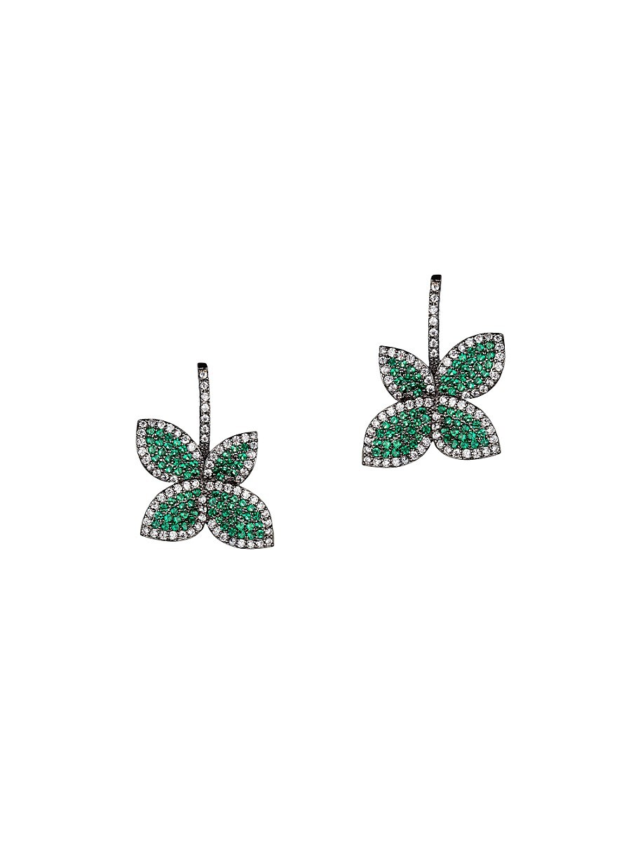 Women's Luxe Crystal Drop Earrings
