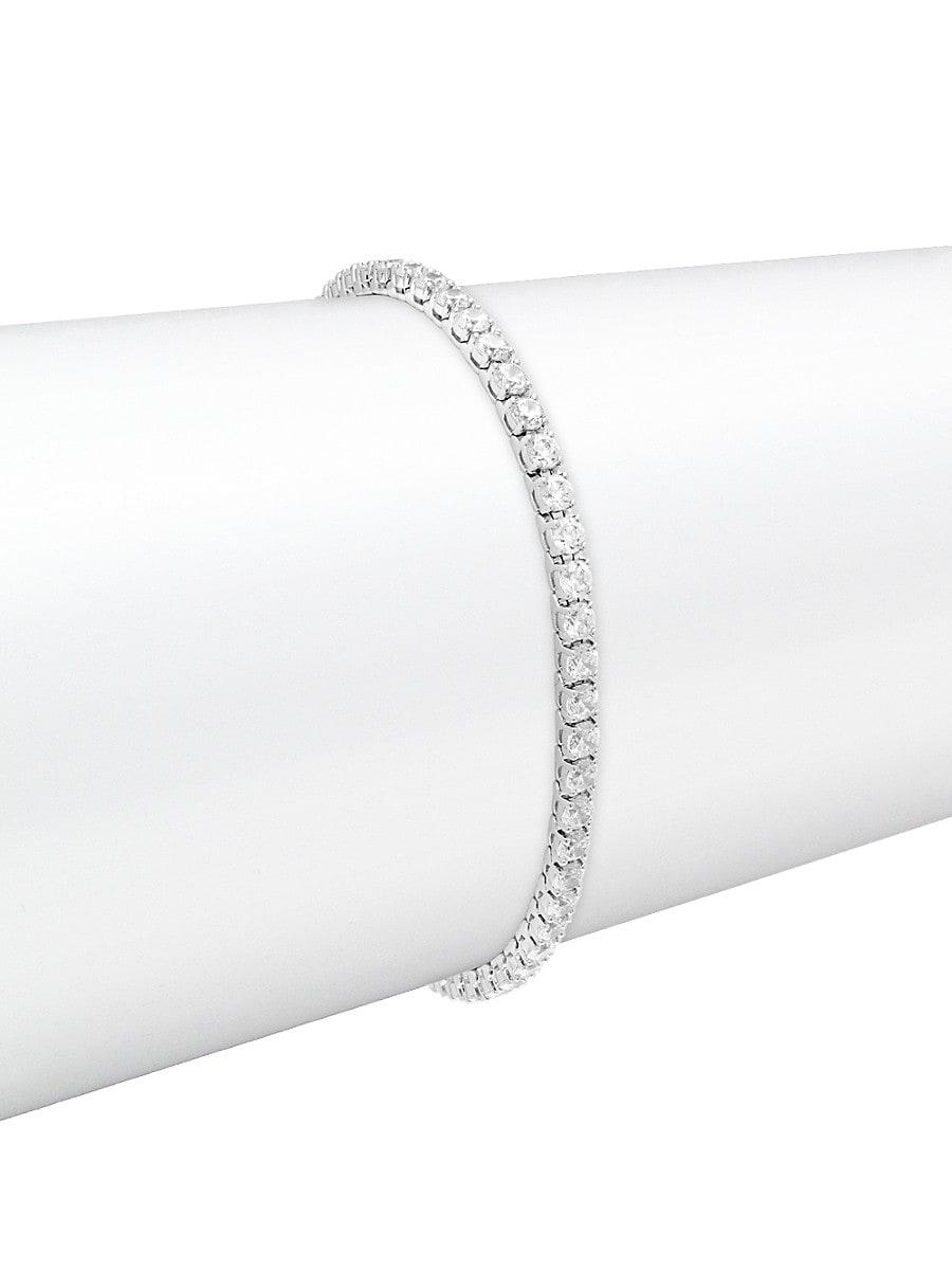 Women's Crystal Tennis Bracelet