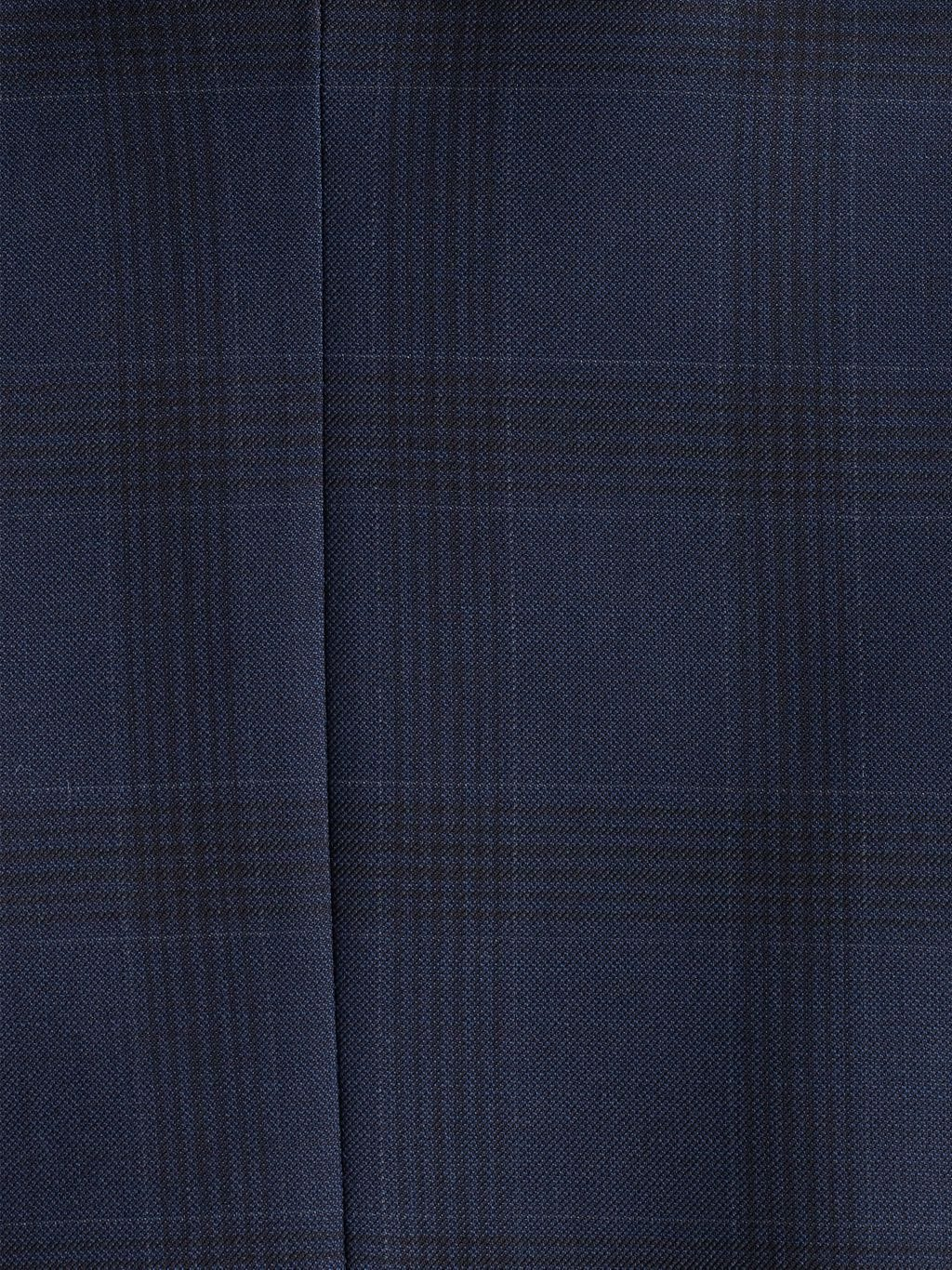 Saks Fifth Avenue Made in Italy Classic-Fit Plaid Wool Suit