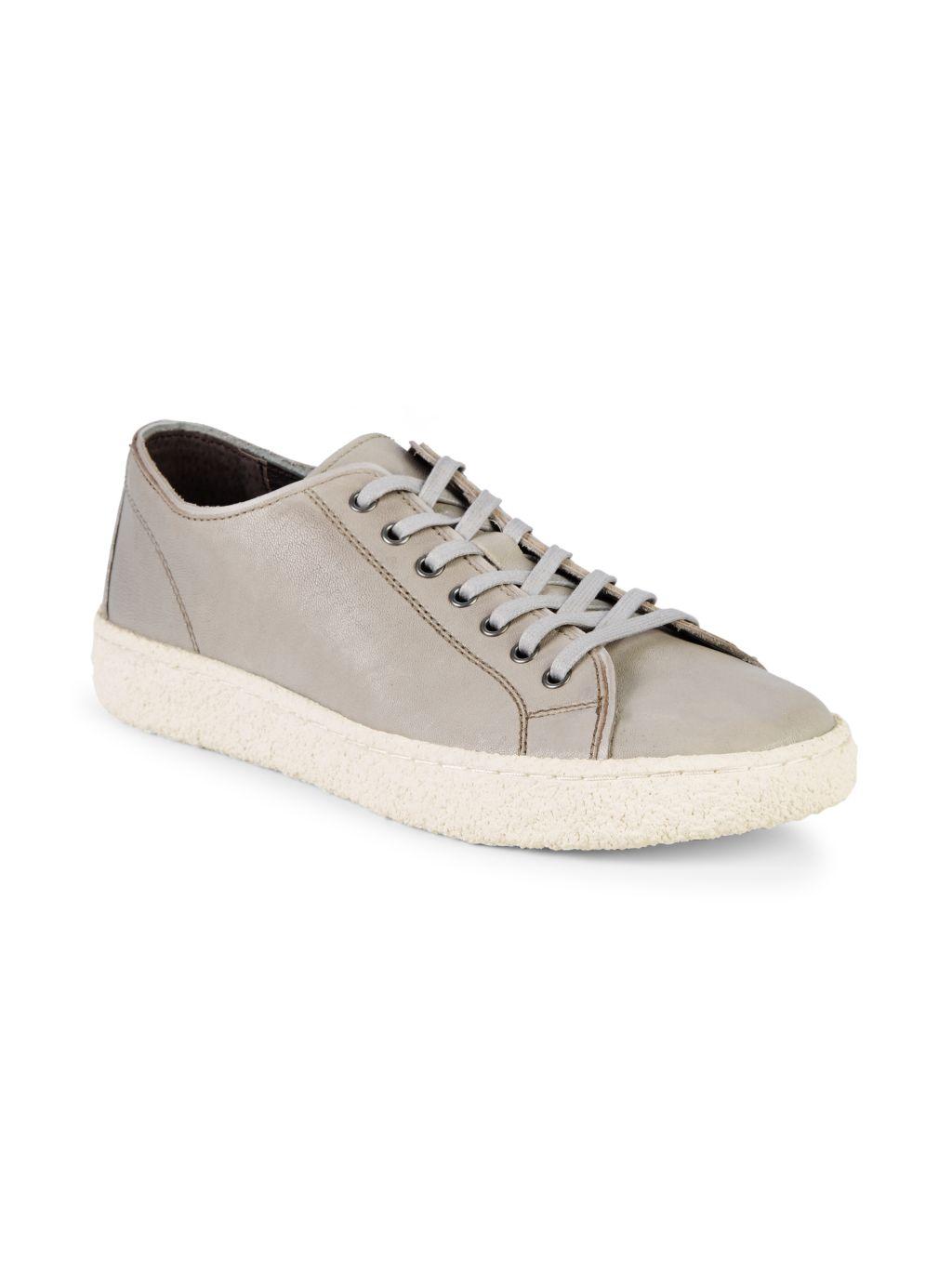 John Varvatos Star U.S.A. Star Leather Sneakers