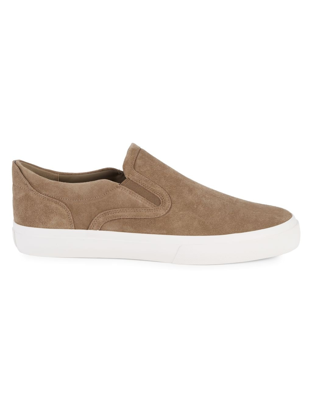 Vince Fairfax Suede Slip-On Sneakers