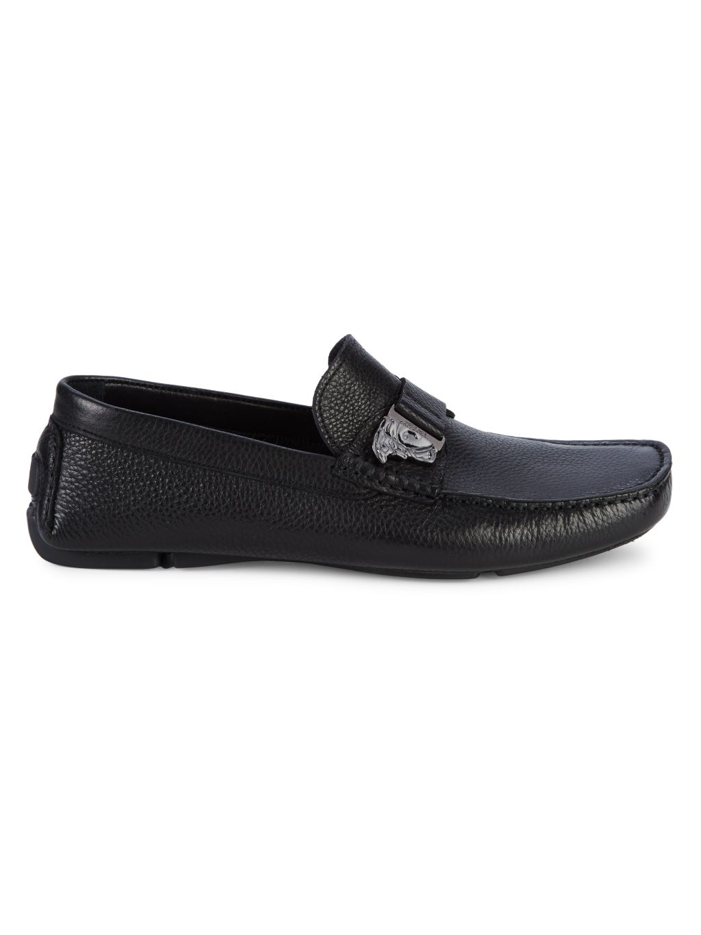 Versace Collection Leather Loafers