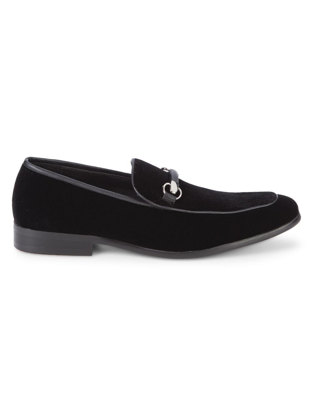 Saks Fifth Avenue Dolo Velvet Bit Loafers