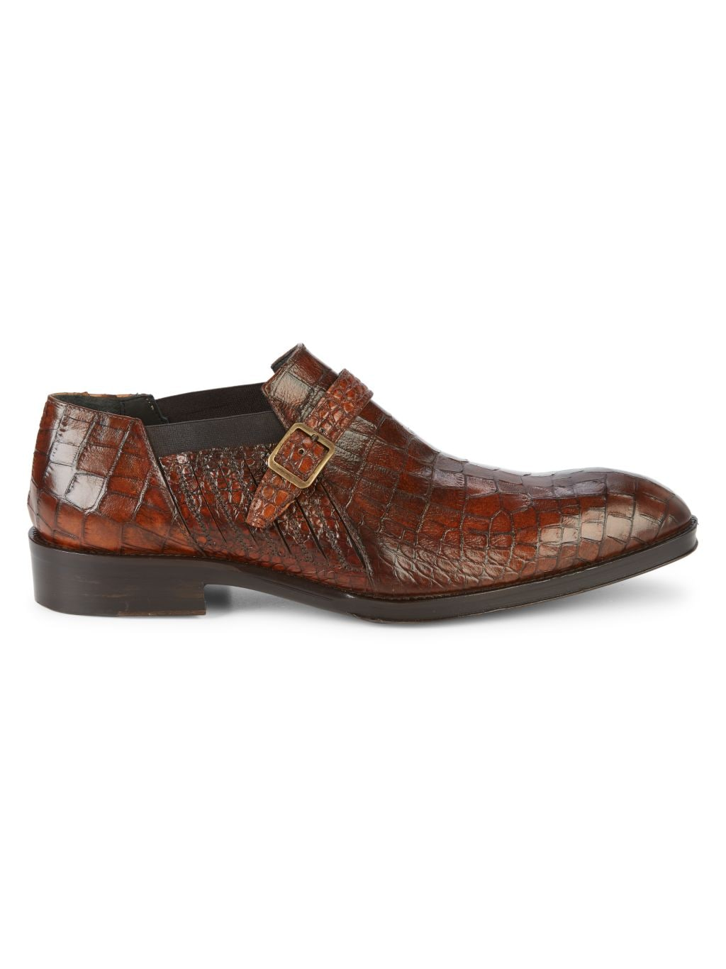 Jo Ghost Croc-Embossed Leather Loafers
