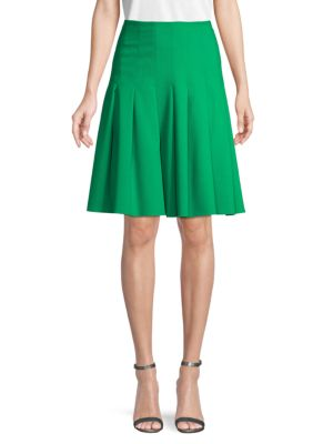 Carolina Herrera Skirts Pleated Wool Skirt
