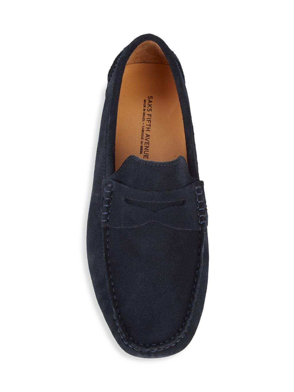 Saks Fifth Avenue Penny Suede Slip-On Loafers