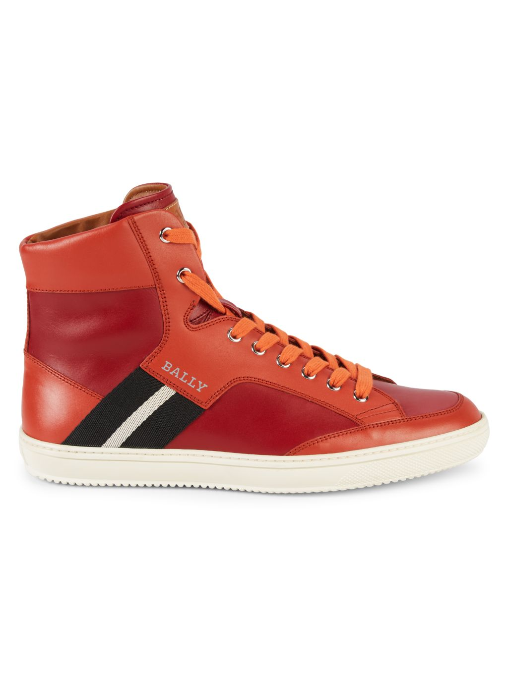 Bally Oldani Leather High-Top Sneakers