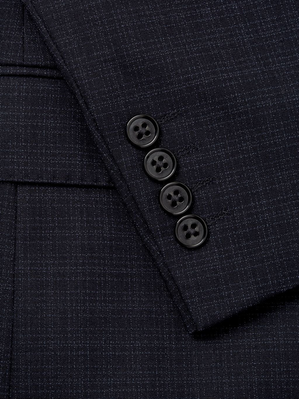 NHP Extra Slim-Fit Check Notch-Lapel Sportcoat