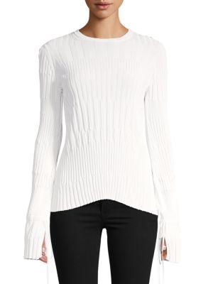 Carolina Herrera Sweaters Tie Cuff Sweater